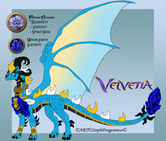 FC: Velvetia the Priest by StephDragonness