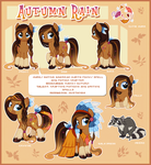 Autumn Rain Reference Guide by Centchi