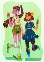 smoothies by naydeity