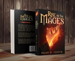Rise of the Mages / e-cover by Dani-Owergoor