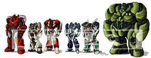 Soldiers of Autobots by Fahad-Naeem