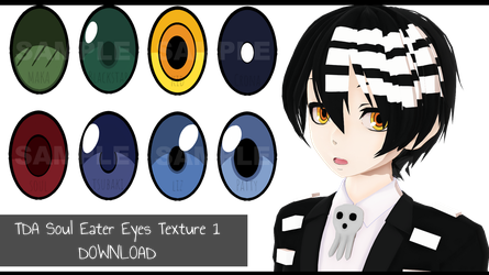 MMD - TDA SE Eyes Pack 1 [255 WATCHERS GIFT] by AsukaJang8888