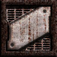 Rusty Grate Seamless Texture by SpiralGraphic