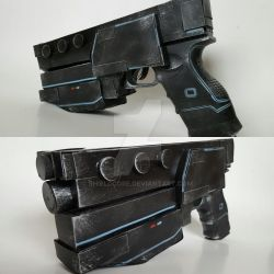 Omolon hand cannon by shieldcore
