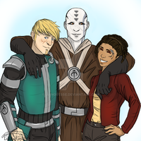 SpaceBros! by luinquesse