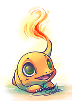 Baby Charmander by tikopets