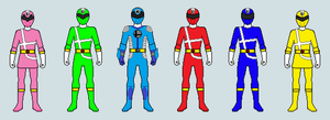 Power Rangers Smash Power Sprite Version by FlamethrowerMan09