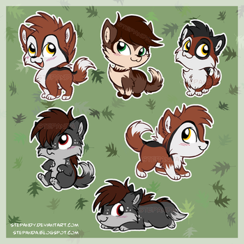 Stickers - The Wolf s Essence by StePandy