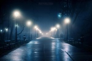 Foggy darkness by Dybcio