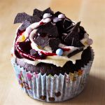 yummy chocolate and blackberry cup cakes 2 by Trutze