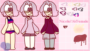 Nicole reference sheet (2018) by PrincipalBunny
