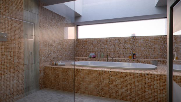 Modern Bathroom - 4 by FibixStudio