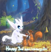 Ori 3rd anniversary by omegapainter