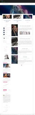 Bella Thorne G-Portal theme by cherryproductionsorg