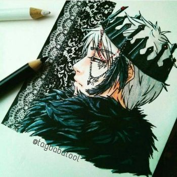 dark prince prussia by taybabatool