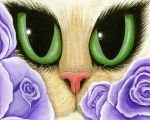 Lavender Roses by tigerpixieart