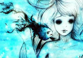 Don't forget me I beg in blue by kukkimarie