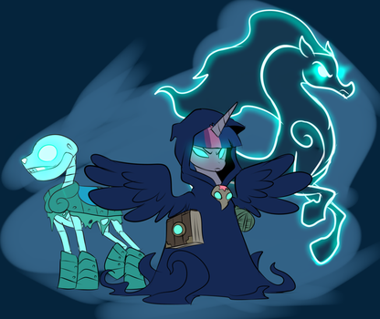 Equestria Has Fallen - Wraith Tower by Metal-Kitty