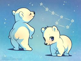 My Little Polar Bears by LCibos