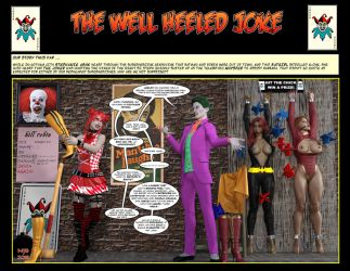 The Well Heeled Joke! By Nathanomir by Zomgzilla