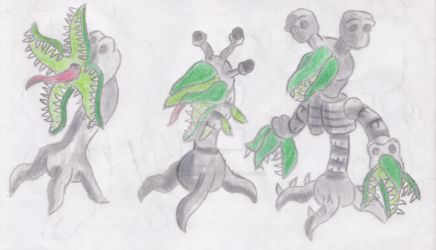 The 8 Sins: Sloth concepts #3: Shooter by MadHatterWorkshop