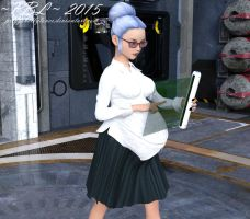 Introducing Sophia by PreggoBellyLover