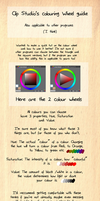 Colour Wheel Tips by Ekkoberry