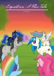 Equestria: A Flux Tale Title Page by Bakedgewds by Star-Sage