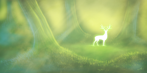 Deep in the Forest by Skyybi