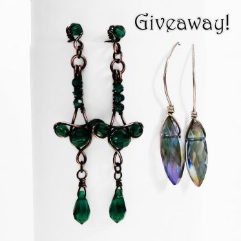Earring Giveaway at Gailavira Jewelry by Gailavira