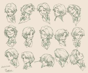 Expression Design of Jose by chacckco