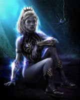 Drow Priestess by goatlord51