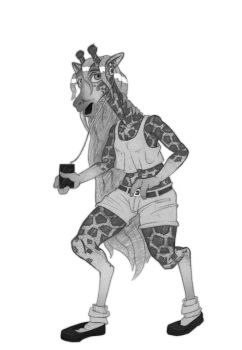 Patreon Sneak Peak - G for Giraffe by tfancred