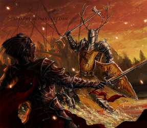 Battle of the Trident by Zusacre