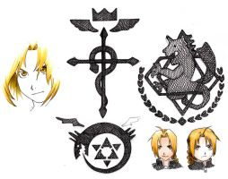 FMA sketches by fimshig