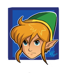 Link_doodle by 8-HP