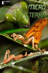 Micro Terra Comic pulp by FueledbypartII