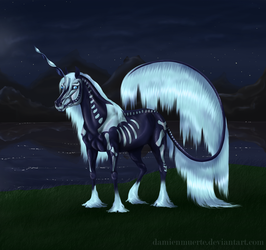 #201 Hallow at the lake by DamienMuerte
