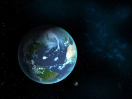 Earth render by STsung
