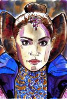 Padme on the senate by bulma24