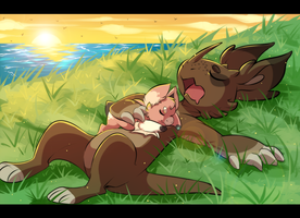 Rest is for the weary by ryouzo