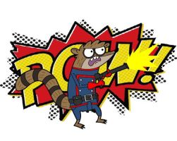 Rocket Raccoon Rigby by Axxis13