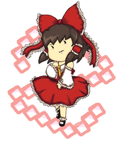 Reimu by MirandaMaija