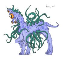 Percival the Tentacle Monster by Allison-beriyani