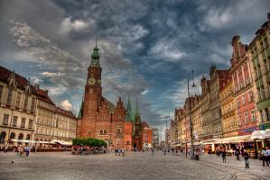 Wroclaw Old Market by DamianMekal