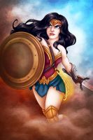 Wonder Woman by msciuto