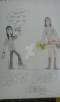 commission: Siren song! by ThirdStreetKid