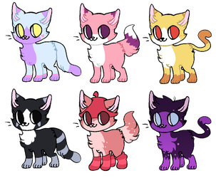 Cheap Kitten Adopts! (0/6) CLOSED by Saveraedae