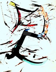 Homage to Pollock by AonieAnfa