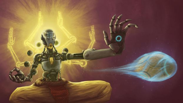 Experience Tranquility - Zenyatta Overwatch by LOLzitsaduck